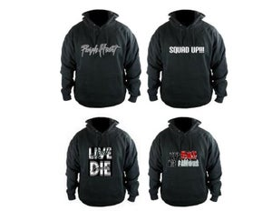 Image of Purple Heart - Squad Up - Live Bad Die Famous (Hoodies) Available In Black M,L,XL,XXL