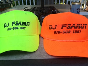 Image of DJ P3ANUT Black Light Hat