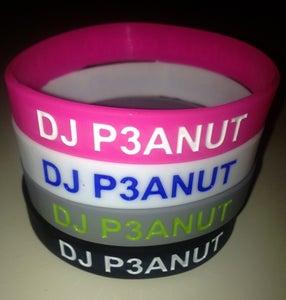 Image of DJ P3ANUT Wristband
