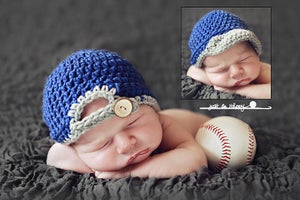 Image of Baseball Cap PDF Pattern