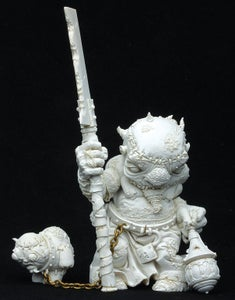 Image of Confrontation Mid-Nor Scourgebearer Resin Statue