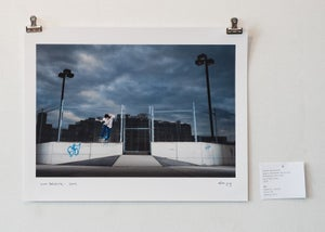 "Image of brian delatorre - gap to backside tailslide - 11"" x 14"" print"