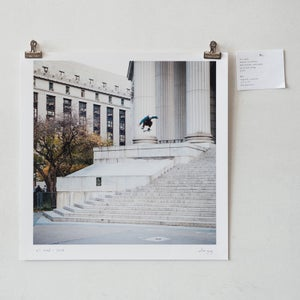 "Image of eli reed - switch kickflip - 12"" x 12"" print"