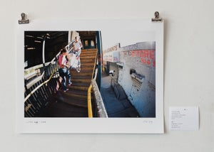 "Image of curtis rapp - backside 180 - 11"" x 14"" print"