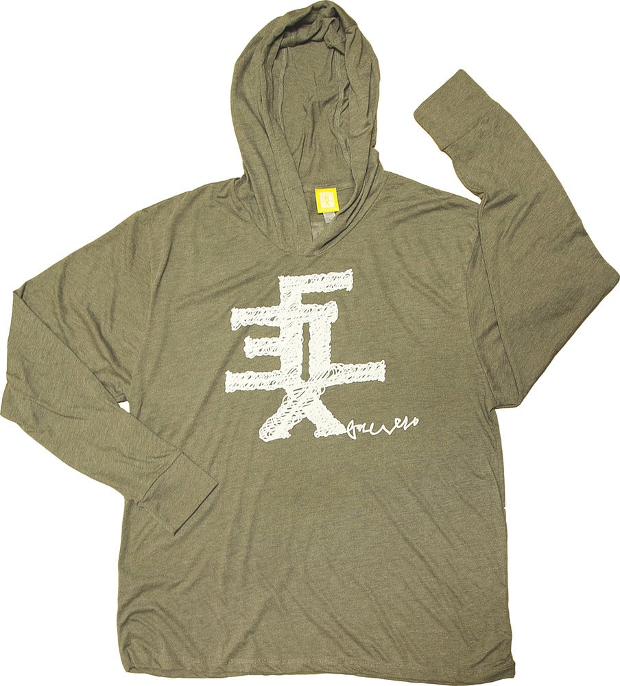 Image of Scribble Hooded T-Shirt