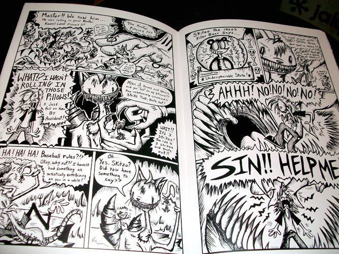 Image of In The Dark Comic Issue #2 (signed)