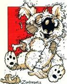 Image of Zombie Koala Print