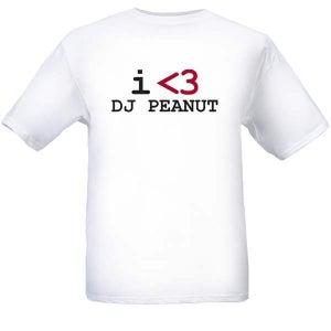 Image of I <3 DJ P3ANUT