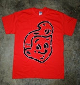 Image of Red SHT! Head T-Shirt