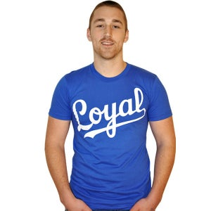 Image of Loyal Royal Blue Tee (Unisex) Limited Edition!