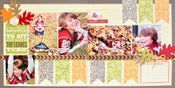 Image of Watch The Leaves Turn Double Page Layout Kit