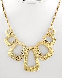 Image of Square Graduating Necklace