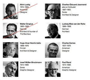 Image of Featured Modernists
