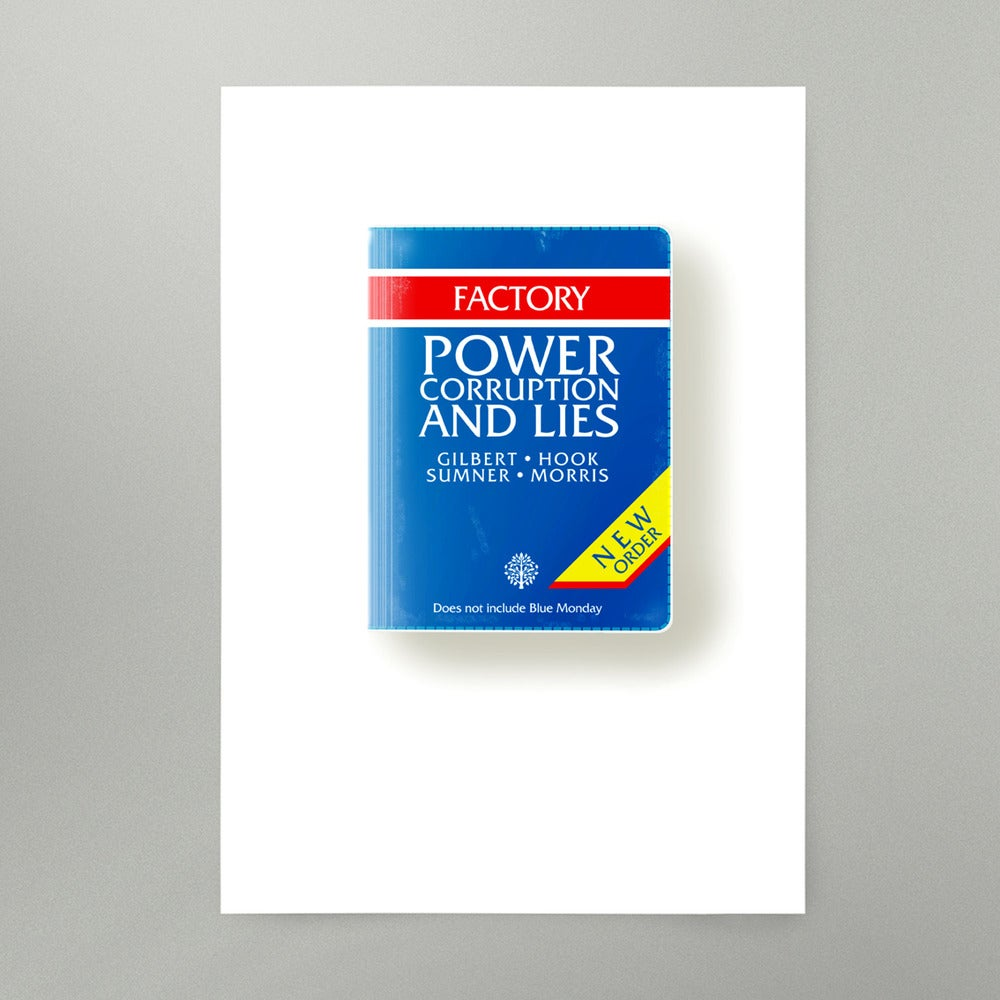 Image of Power Corruption and Lies Art Print