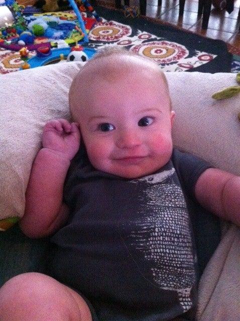 Image of BABY Armadillo Onesie