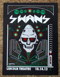 Image of SWANS at The Lincoln Theatre