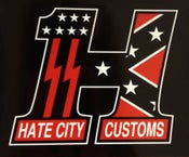 Image of Hate City Customs #1 T Shirt
