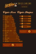 Image of Cigar Size & Shape Poster