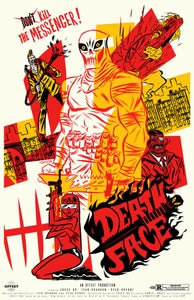 Image of LIMITED/NUMBERED DEATHFACE SILKSCREEN POSTER