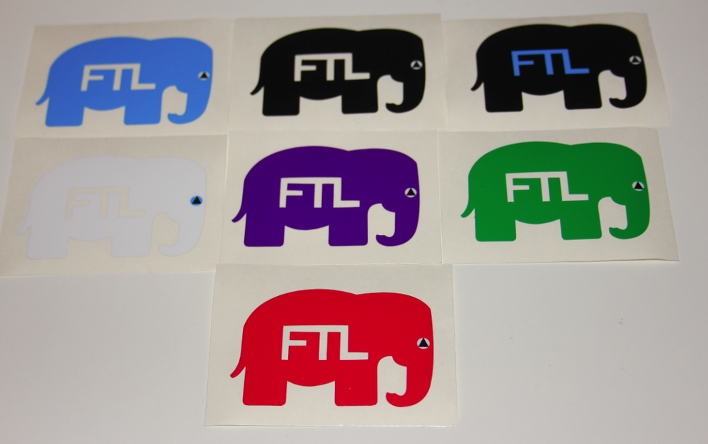 Image of FTL Elephant Stickers