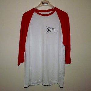 Image of Red 'Back To The Roots' Raglan