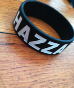 Image of Harry Styles Hazza bracelet.