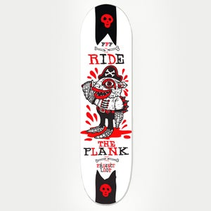 "Image of FFF ""Ride The Plank Deck"" Limited Edition Deck"