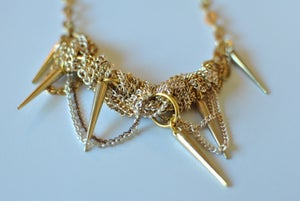 Image of Gold Spike Necklace