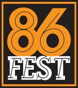 Image of 86FEST Sticker