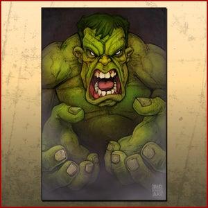 Image of Hulk Print