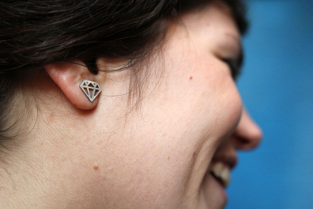 Image of Diamond Earrings / Collection Amantes 2011