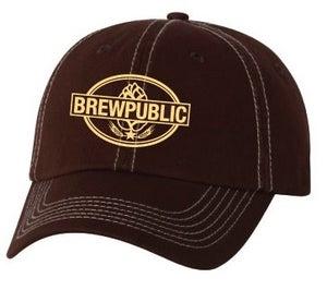 Image of BREWPUBLIC Logo Baseball Hat