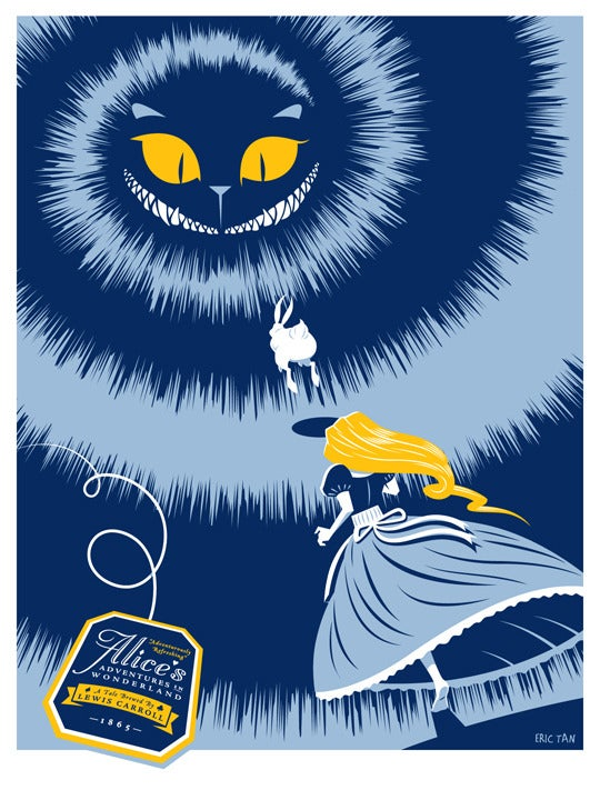 Image of 'Follow Hobson: A Tribute to Alice's Adventures in Wonderland' Blue