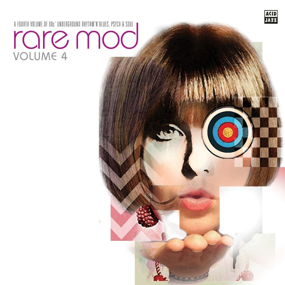 Image of Rare Mod Volume 4 - Various Artists CD