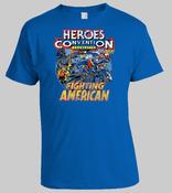 Image of HEROESCON 2011 T-SHIRT :: FIGHTING AMERICAN DESIGN