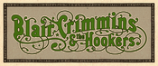 Image of Blair Crimmins and The Hookers Logo Sicker