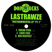 """Image of LASTRAWZE """"THE INSTRAWMENTAL EP"""" PART 1  ***SOLD OUT***"""