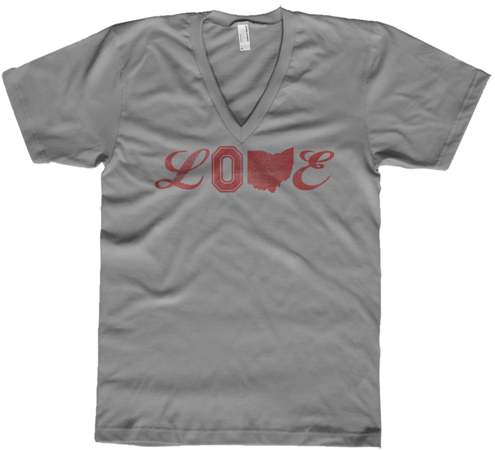 Image of Ohio Love Tri-Blend