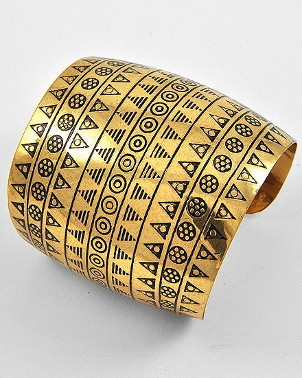 Image of Tribal Oversized Cuff