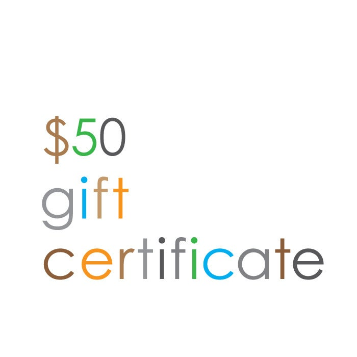 Image of Gift Certificate $50