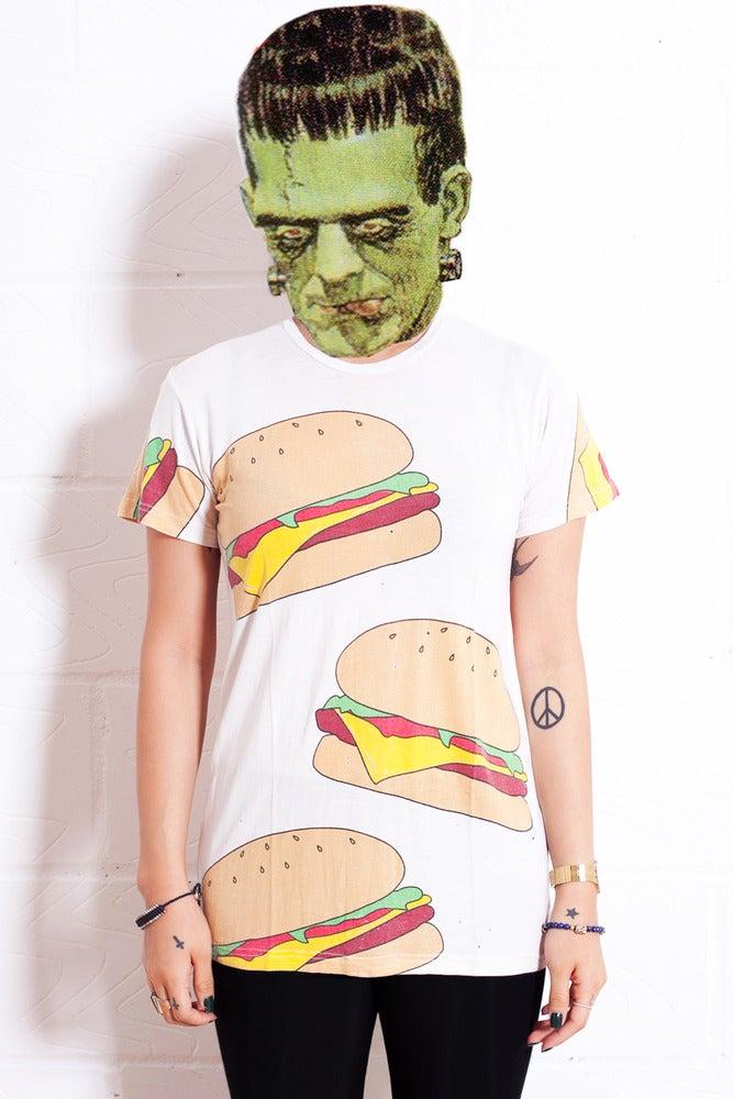 Image of Burger T-shirt