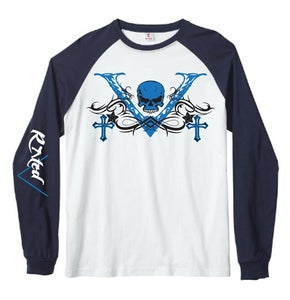 "Image of Men's ""V-Unit"" Baseball Jersey T-Shirt"