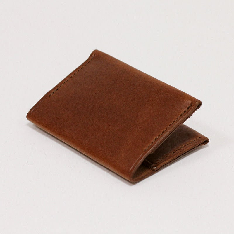 Image of Bi-Fold Card Wallet - Almond