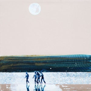 Image of Full Moon over Camel Estuary, Cornwall