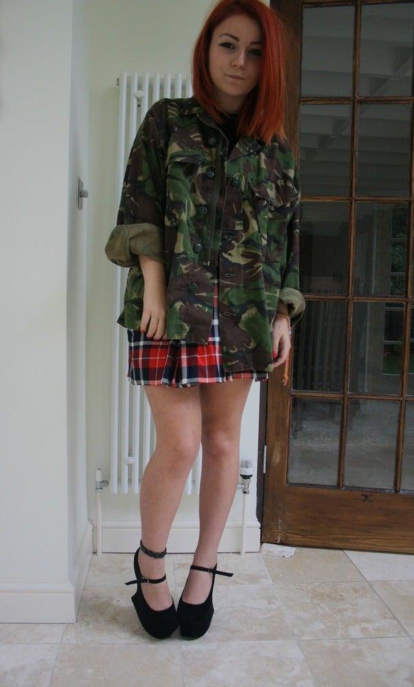 Image of Vintage Camo Jacket