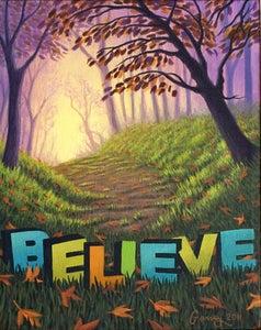 "Image of Believe - 11"" x 17"" Archival Print"