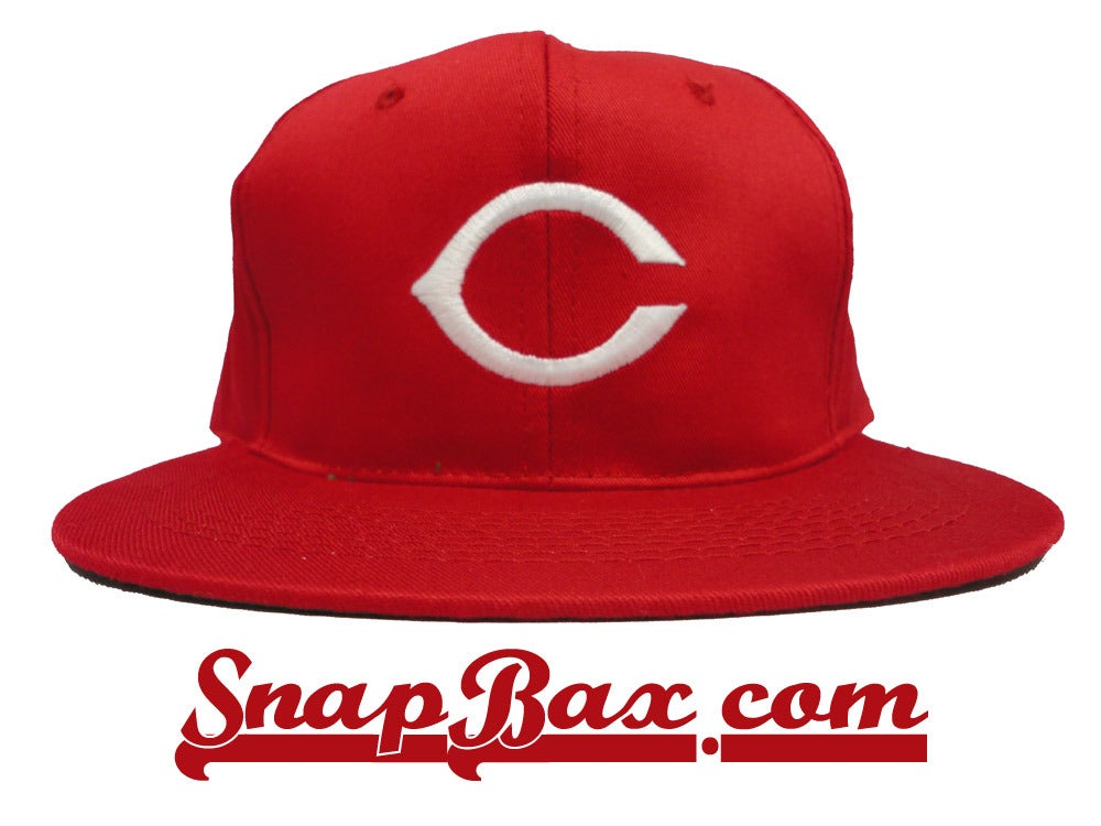 Image of Vintage Deadstock Cincinnati Reds Snapback hat cap