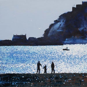 Image of Early Winter's Light St. Michael's Mount