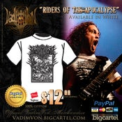 "Image of ""Riders Of The Apocalypse"" tee - NEW"