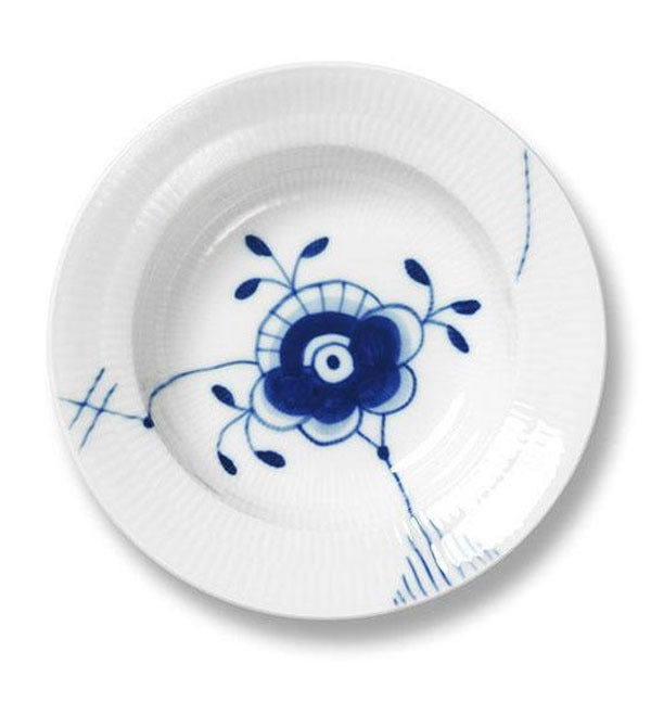 Image of Blue Fluted Mega -- Deep Plate II